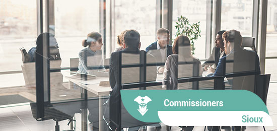 Commissioners_Sioux